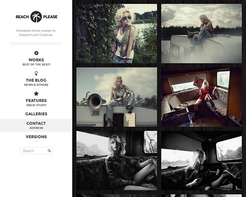 Portfolio Gallery WordPress Theme