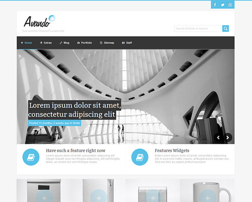 Elegant WP Theme