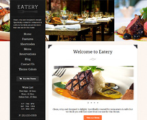 WP Restaurant Theme
