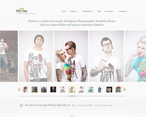 WordPress Theme for Fashion Agencies