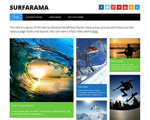 WordPress Free Magazine Theme