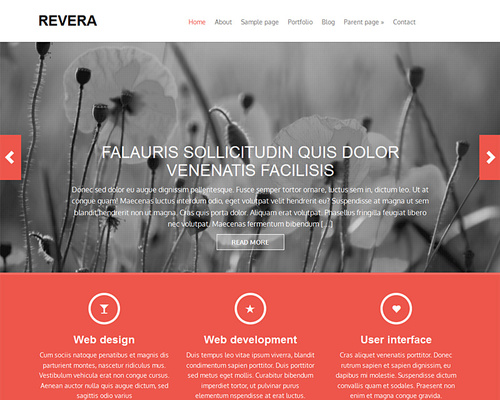 Free WordPress Bootstrap Theme