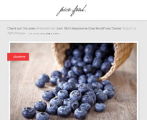 Food & Lifestyle WordPress Blog Theme