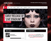Music Events WordPress Theme