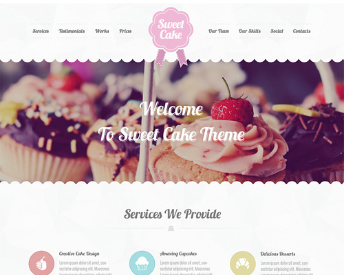 Delicious WordPress Portfolio Theme