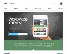 Business or Portfolio WordPress Theme