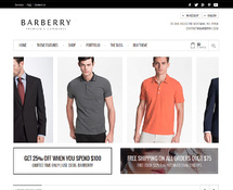 WordPress Online Store Template