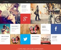 BuddyPress Social Theme