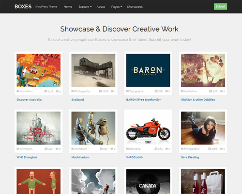 Community Gallery WordPress Theme