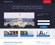 WordPress Theme for Politics