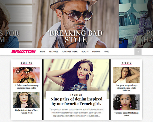 Fashion & Lifestyle WordPress Magazine Theme