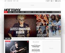 Celebrity Magazine WordPress Theme