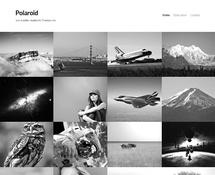 Full-width Photography WordPress Theme