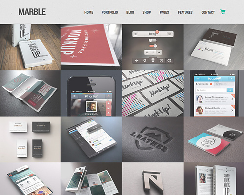 Flexible WordPress Portfolio Theme for Designers