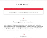 Undiscovered_clean-simple-wordpress-blog-theme