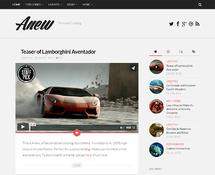 Personal Tumblog-style WordPress Theme