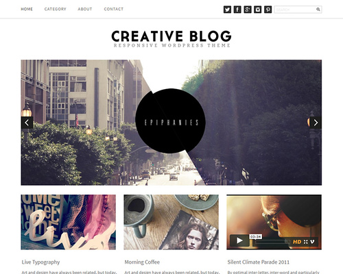 Brand Design WordPress Theme