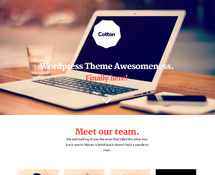 Creative Studio One-page WordPress Theme