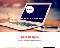 Cotton-creative-studio-wordpress-theme