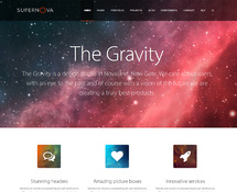 Innovative WordPress Theme with Video Background