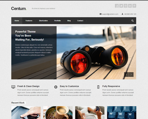 Solid WordPress Theme