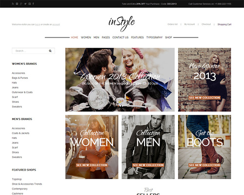 Premium WordPress eCommerce Theme