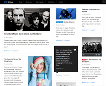 Free Responsive Grid-based Magazine Theme