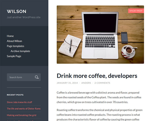 Responsive WordPress Theme for Lifestyle Blogs