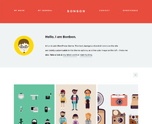 Freelance Portfolio WordPress Theme