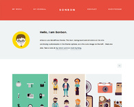 Bonbon-freelance-portfolio-wordpress-theme