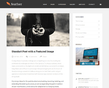 Clean and Lightweight WordPress Blog Theme
