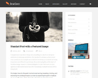 Feather-clean-and-lightweight-wordpress-blog-theme