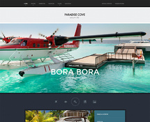 Summer Holiday Resort WordPress Theme