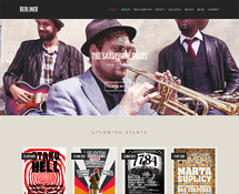 WordPress Theme for Music Artists and Bands