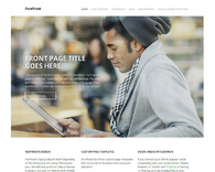 Forefront-simple-wordpress-business-theme