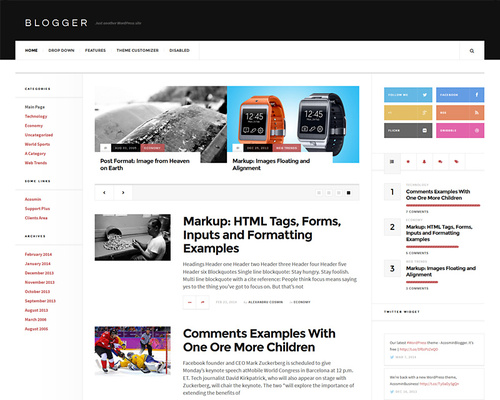 Best Free WordPress Blog & Magazine Theme