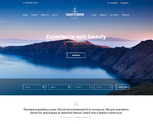 WordPress Theme for Resorts by the Beach