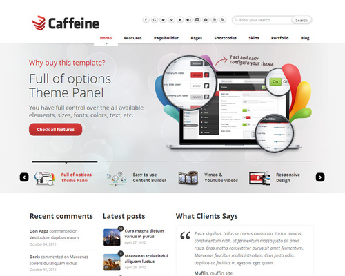 WordPress Theme for Software Company