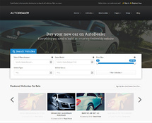 Used Car Dealers WordPress Theme