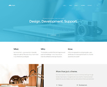 Clean WordPress Theme for Professionals