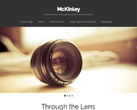 Mckinley-photoblog-wordpress-theme