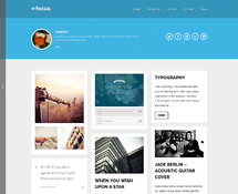 WordPress Theme for Artists and Bloggers