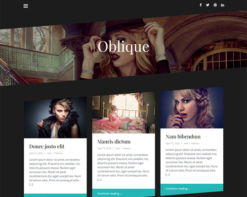 Free Dark WordPress Magazine Theme