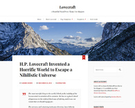 Lovecraft-clean-wordpress-theme-for-bloggers
