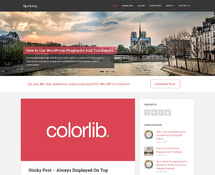 Free, Flat and Responsive WordPress Theme