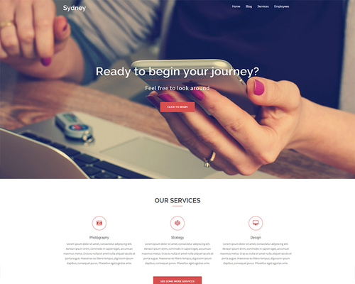 Free Professional WordPress Business Theme