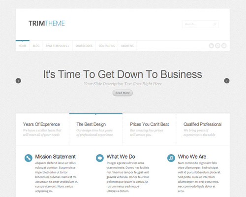 Fast WordPress Theme