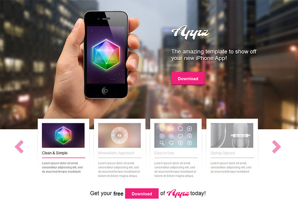 Appz theme: Overview