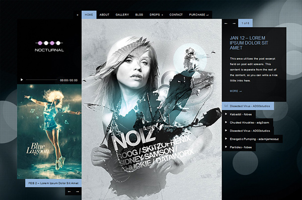 WordPress Nightclub Theme – Nocturnal